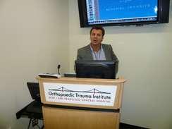 Vortrag Dr. Schubert am Francisco Generel Hospital der Universität  von Californien, USA