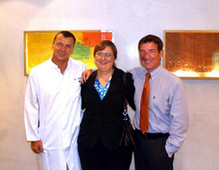 Frau Claudia B. & Dr. Schubert